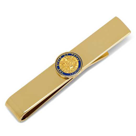 CC-TEXS-GL-TB: State of Texas Seal Tie Bar